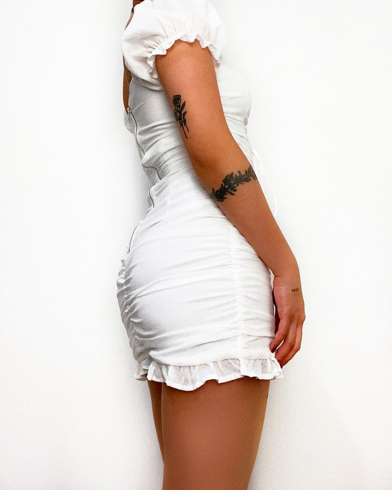 Nicolette Mini Dress - White