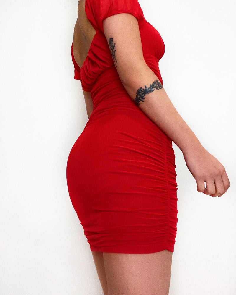 Marisa Mini Dress - Red