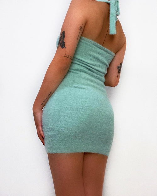 Athena Mini Dress - Mint