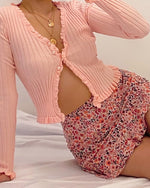 Sweetest Day Cardigan - Pink
