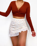 Juno Crop Top - Brown