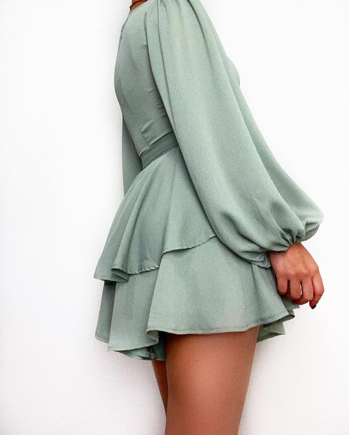 Abigail Playsuit - Sage