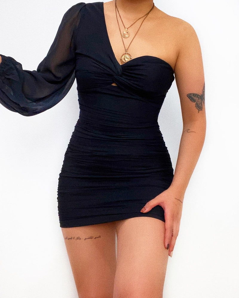Jordan Mini Dress - Black