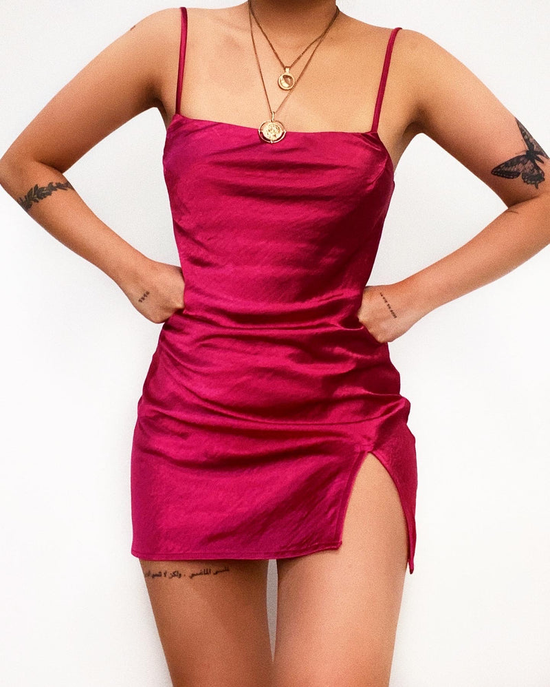 Malaika Mini Dress - Red