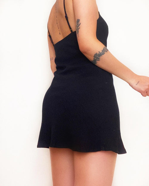 Cynthia Mini Dress - Black