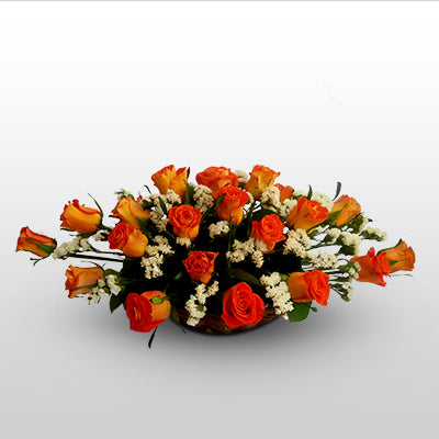 20 Blooming oranges - florista-in