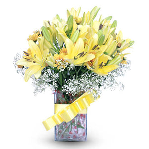 Cheerful Lilies - florista-in