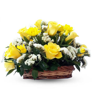 Yellow Blooms - florista-in