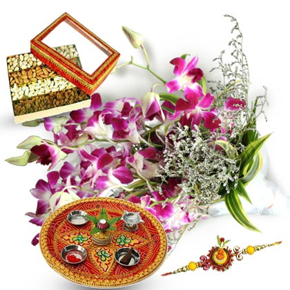 A Rakhi Hamper - florista-in