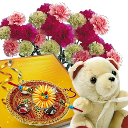Cute Rakhi Gift - florista-in