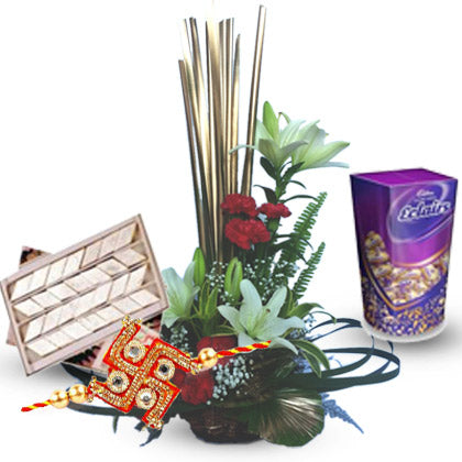 Chocolates, Sweets N Rakhi - florista-in