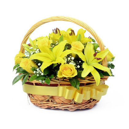 Sunshine Basket - florista-in