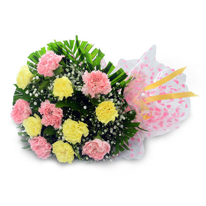 Floral Carnations Gift - florista-in