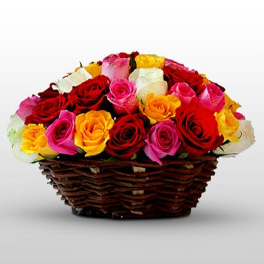 Lovely rose basket - florista-in