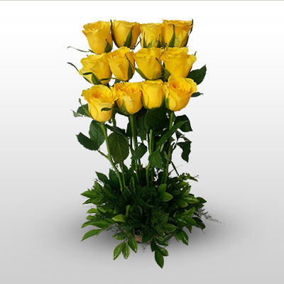 Yellow Roses Delight - florista-in