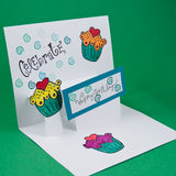Pop up card - florista-in