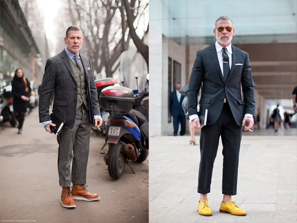 Nick Wooster's outfits