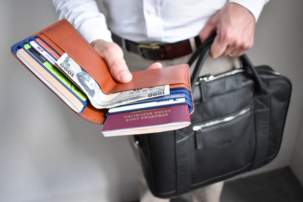 Travelling is just easier when you've got all your documents – including passport – in one place.