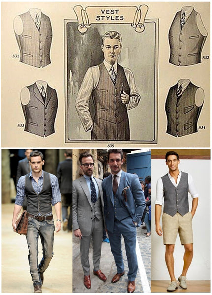 Who would guess men will still be wearing vests in 2015?