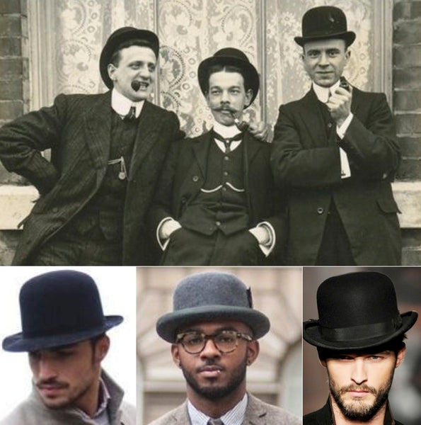 Bowler hats can't be back. They never left:)