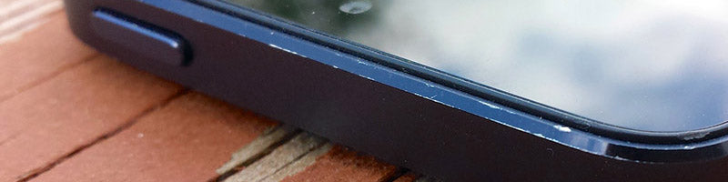 iPhone 5 with scuffs