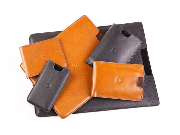 New arrivals - leather iPhone 5 case, slim wallet, iPad sleeve and MacBook Air sleeve