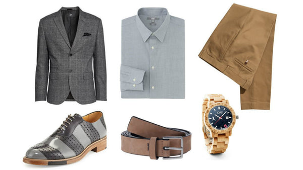Fashion outfit #22: English gentleman in gray