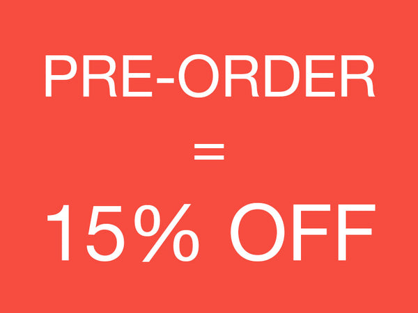 Order now & get 15% off your purchase