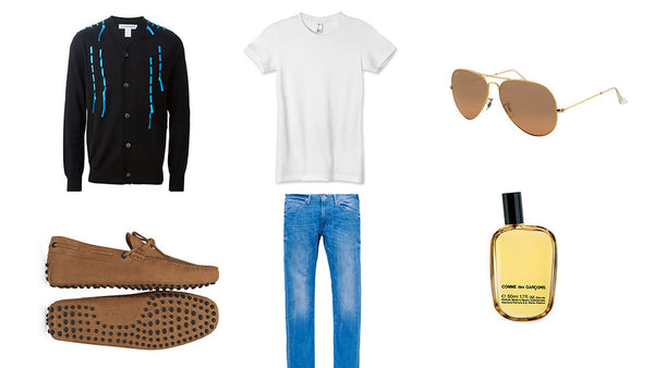 Fashion outfit #2: Leisure style for summer