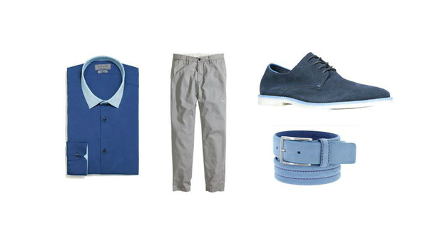 Fashion outfit #8: A blue day