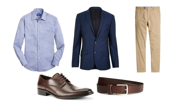 Fashion outfit #17: The casual businessman