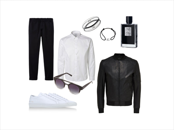 Fashion outfit #15: Black & White & Awesome