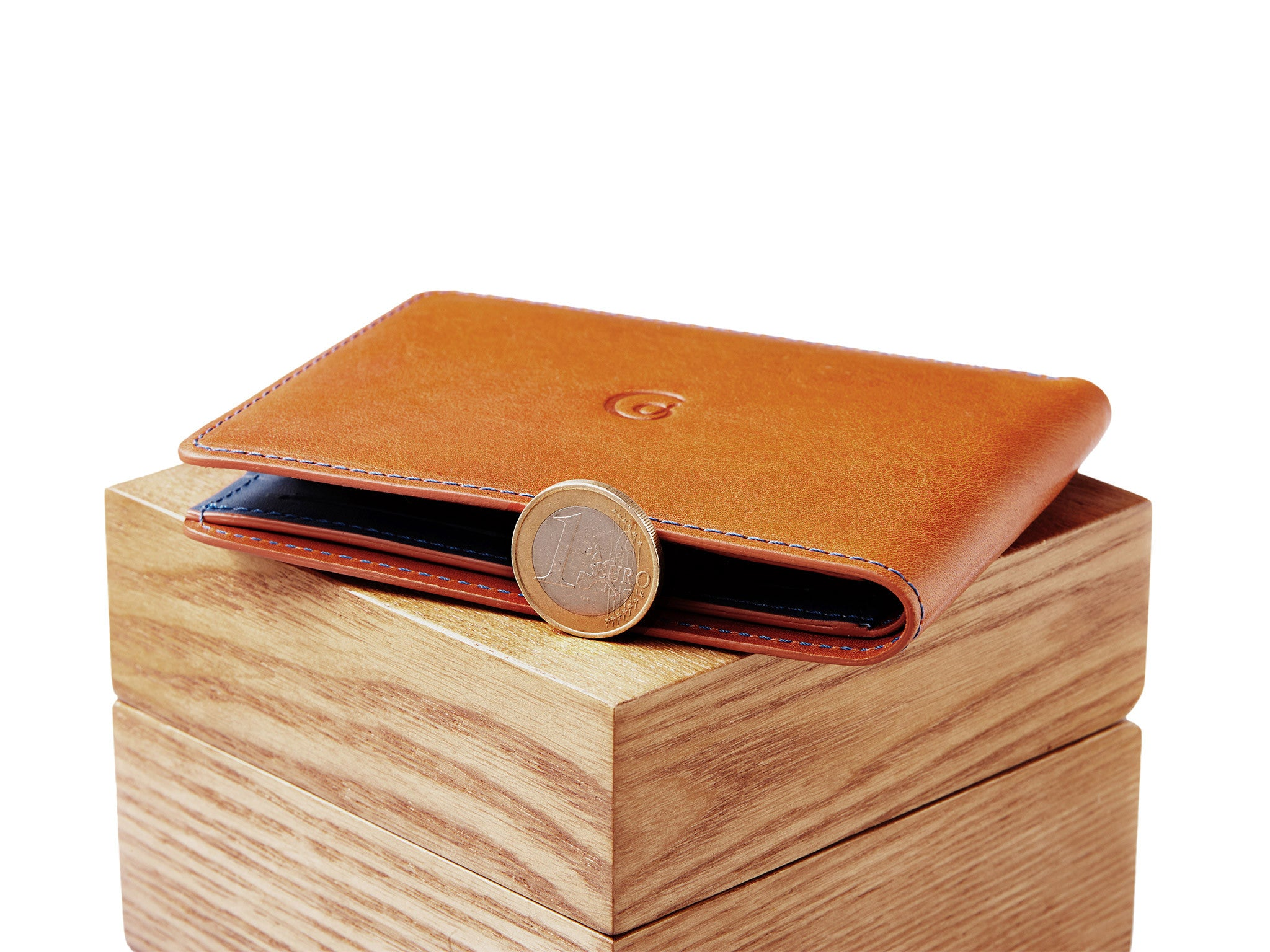 Home Design Story Free Coins Leather Coin Wallet Brown Blue By Danny P