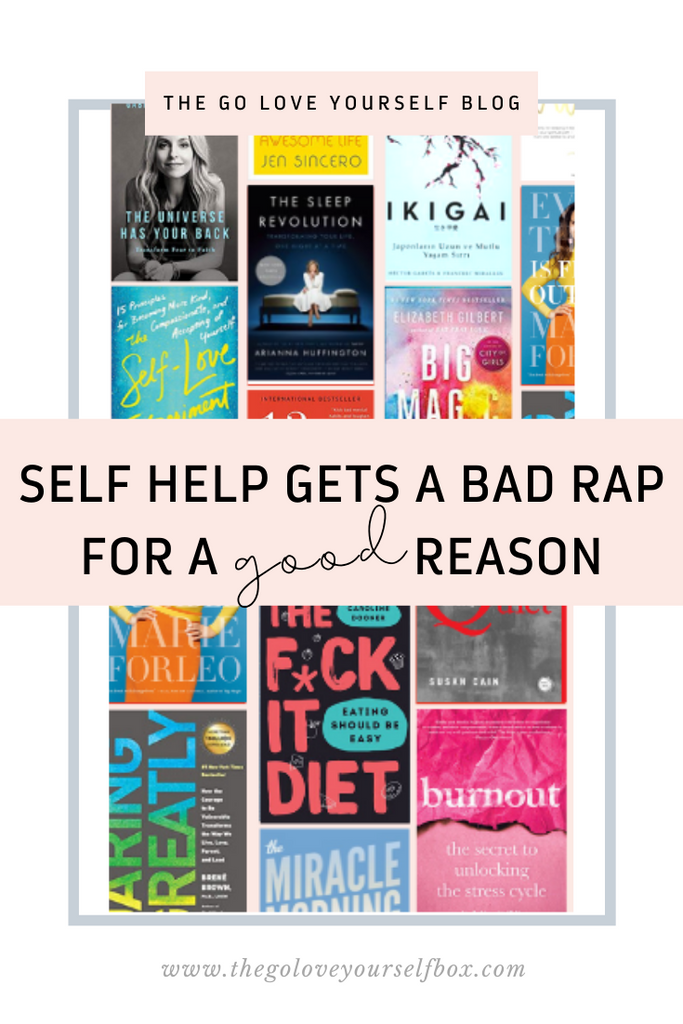 Self-Help That Actually Helps