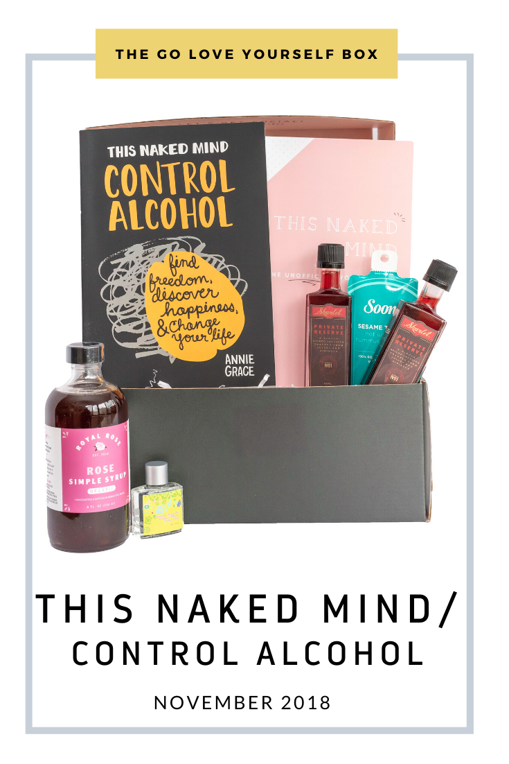 Go Love Yourself Box - Self Help Self Care - This Naked Mind/Control Alcohol