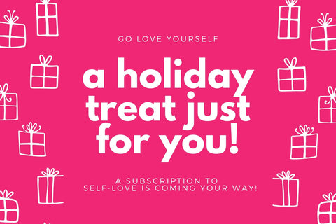 Pink GLY Holiday Gift Certificate - Front