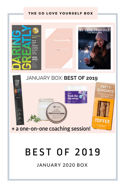 *JANUARY 2020*   THE BEST OF 2019 BOX - Go Love Yourself