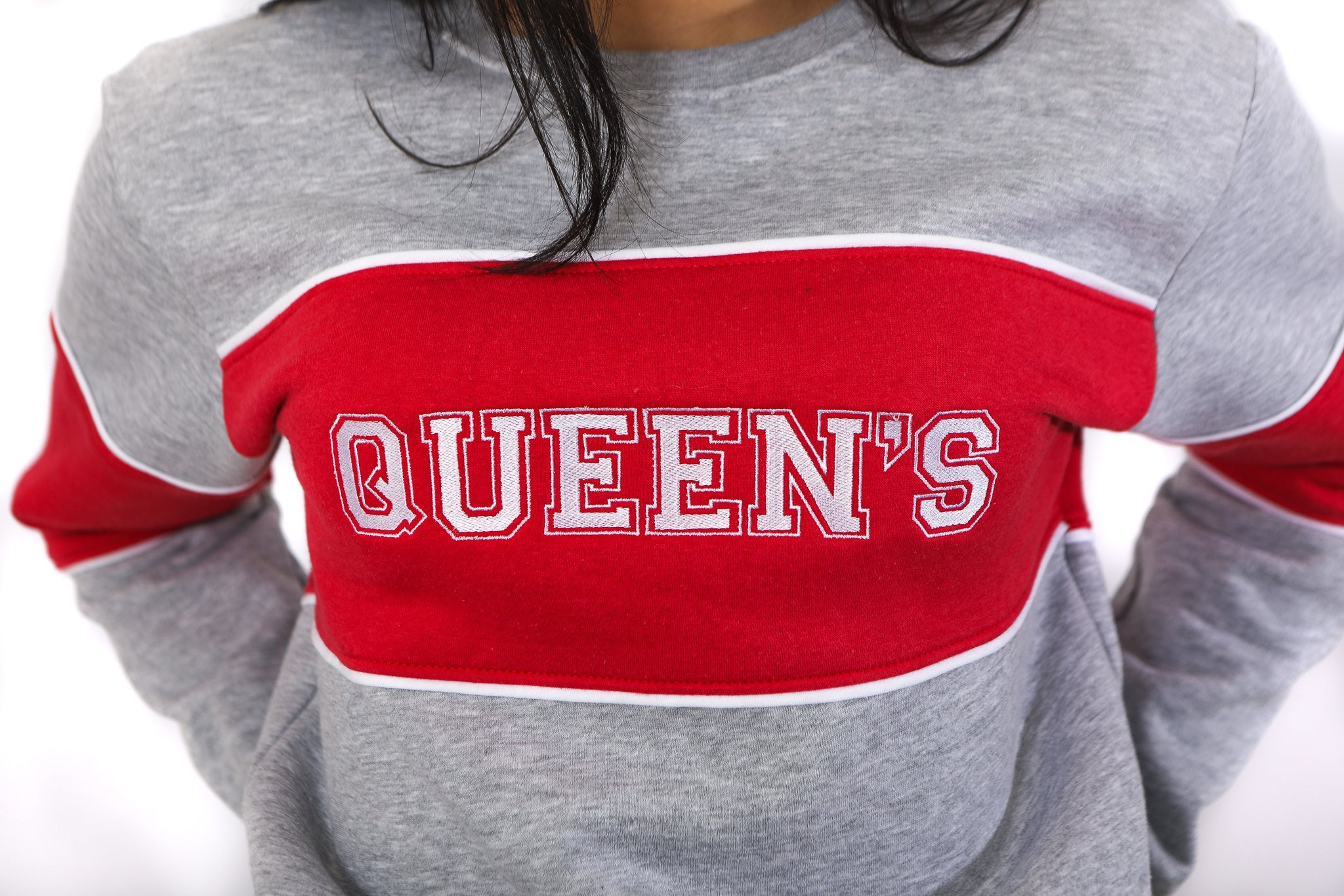 Close up of Queen's logo