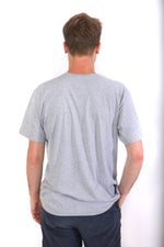 Back of shirt completely grey