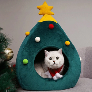 Cat Nest for Celebrating Christmas