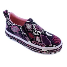 Load image into Gallery viewer, Kakimoda Multi Colored Snake Skin Printed Sneakers