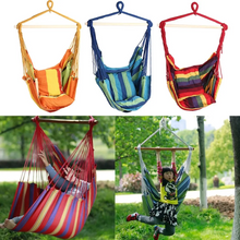 Load image into Gallery viewer, Outdoor Canvas Hammock Chair