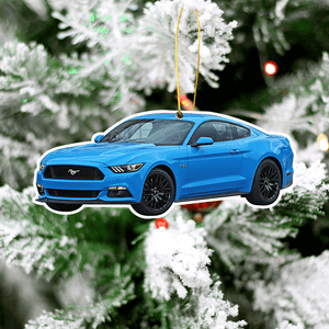 Mustang Christmas Tree Decoration Hanging Ornament Set New Version