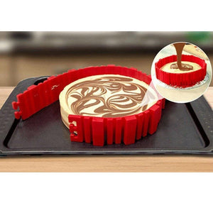 Non-stick Reusable 30-cavity Silicone Pastry Cake Macaroon Mat Baking Mould