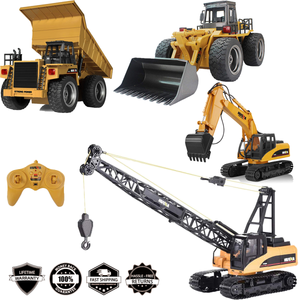 ( Present For Children's Day 49% OFF) 2020 New RC Construction Vehicles Bulldozer