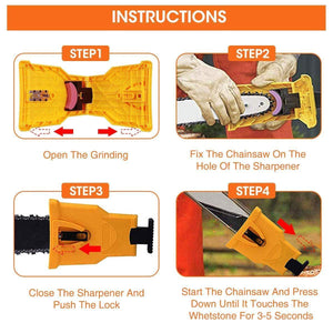 Chainsaw Teeth Sharpener (49% OFF TODAY!!!!)