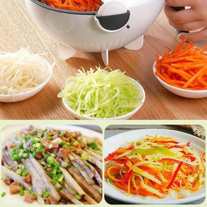 Magic Rotate Vegetable Cutter Chopper Portable Grater Kitchen Tool