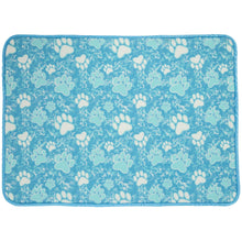 Load image into Gallery viewer, Paw Print Double Sided Dish Drying Mat
