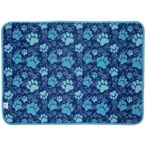 Paw Print Double Sided Dish Drying Mat