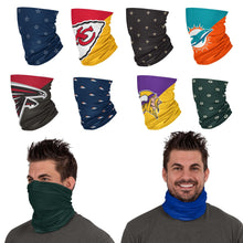 Load image into Gallery viewer, NFL Gaiter Scarves - Pick Your Team & Style! (PREORDER - SHIPS IN MAY)